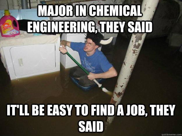 Chemical Engineering funnest engineering major