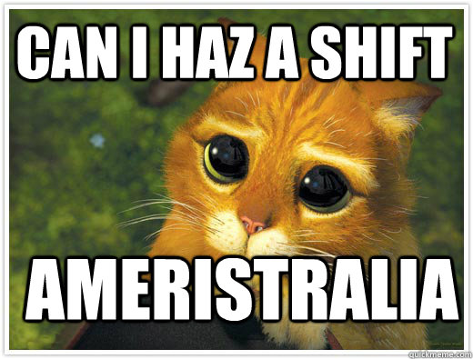 Can I haz a shift Ameristralia
