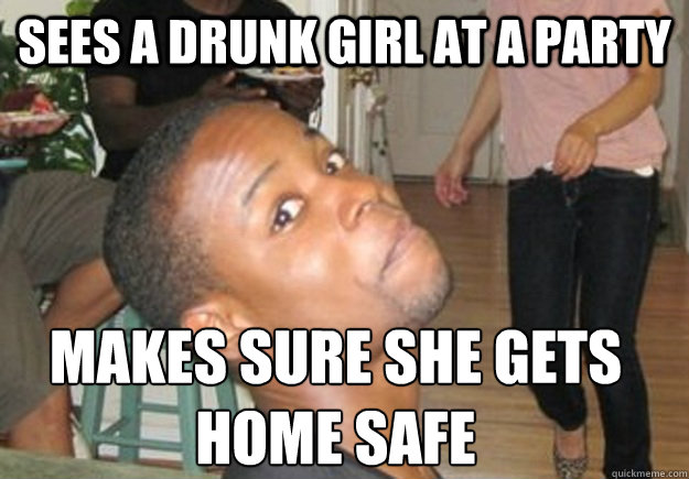 Sees A Drunk Girl At A Party Makes Sure She Gets Home Safe