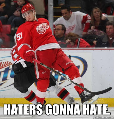 Haters gonna hate. -  Haters gonna hate.  Misc