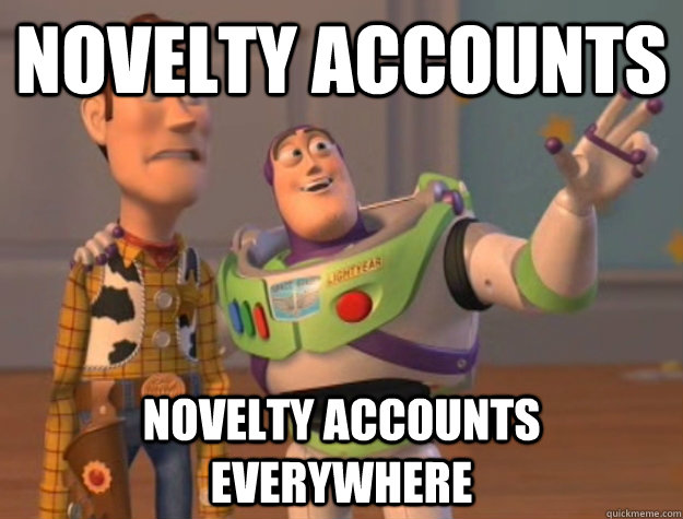 novelty accounts novelty accounts everywhere - novelty accounts novelty accounts everywhere  Buzz Lightyear