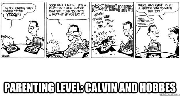 Parenting Level: Calvin and Hobbes -  Parenting Level: Calvin and Hobbes  Parenting Level Calvin and Hobbes