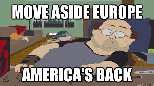 Move Aside europe america's back