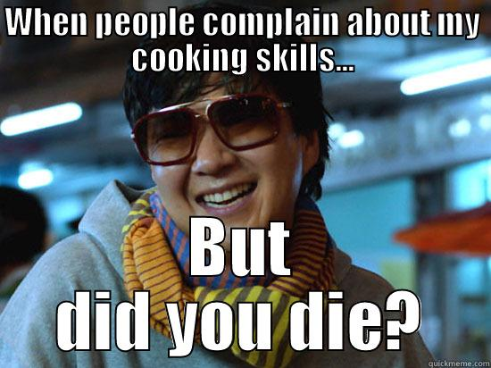 Is Craysian that bad of a cook? - WHEN PEOPLE COMPLAIN ABOUT MY COOKING SKILLS... BUT DID YOU DIE? Misc