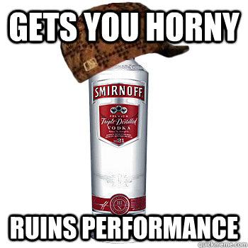 alcohol that make you hornier