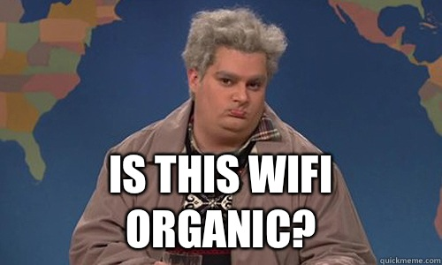 Is this wifi organic?