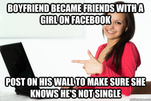 how to add a girl on facebook