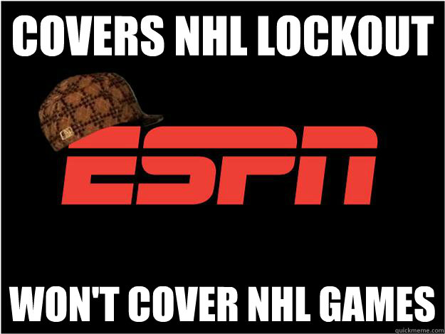 covers nhl lockout Won't cover nhl games