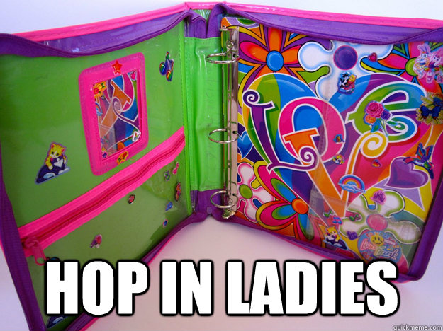 hop in ladies -  hop in ladies  Misc