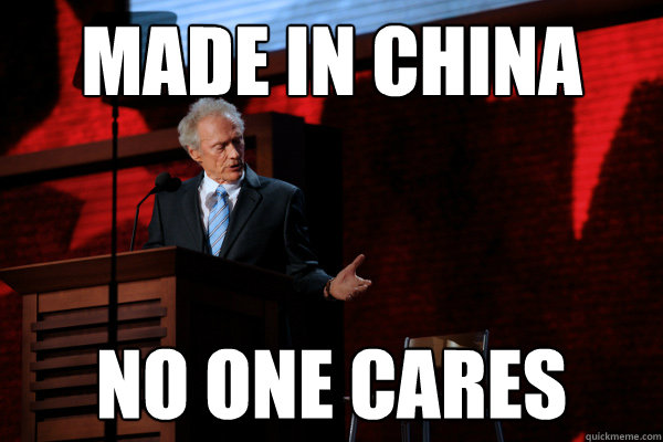 Made in China No one cares - Made in China No one cares  Invisible Obama