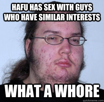 Hafu has sex with guys who have similar interests what a whore