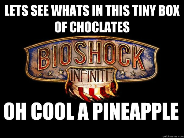 Lets see whats in this tiny box of choclates oh cool a pineapple