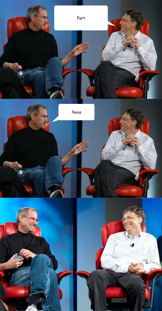 Fart Penis - Fart Penis  Steve Jobs vs Bill Gates
