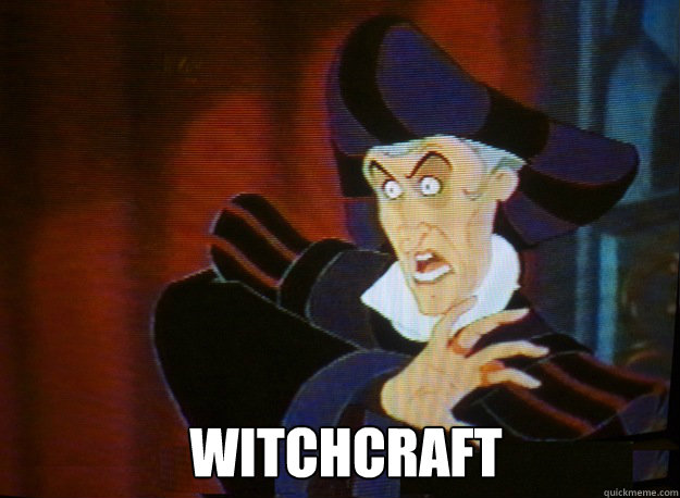 Image result for witch craft meme