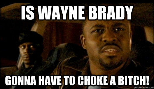 Is Wayne Brady Gonna have to choke a bitch!