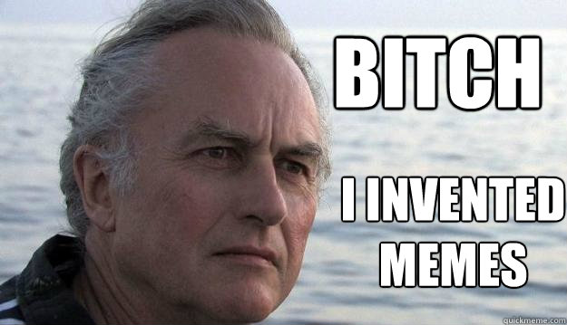 bitch I invented memes