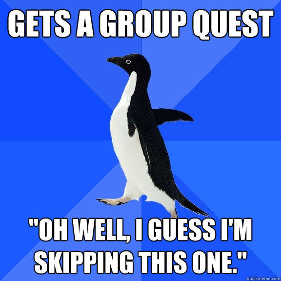 Gets a group quest