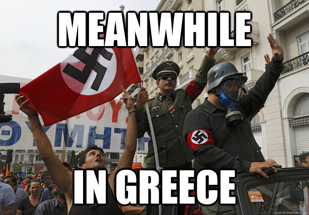 meanwhile in greece - meanwhile in greece  Misc