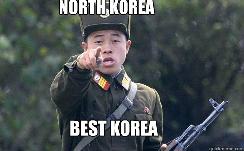 north korea best korea  Korea Korshmea