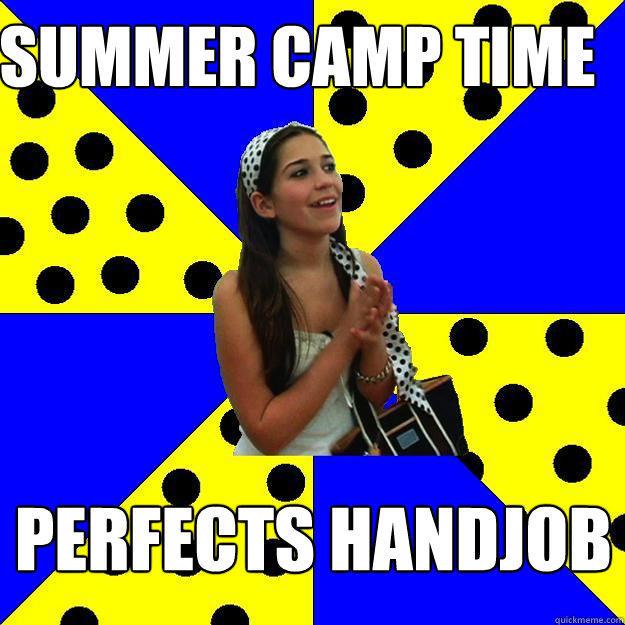 summer camp time perfects handjob  Sheltered Suburban Kid