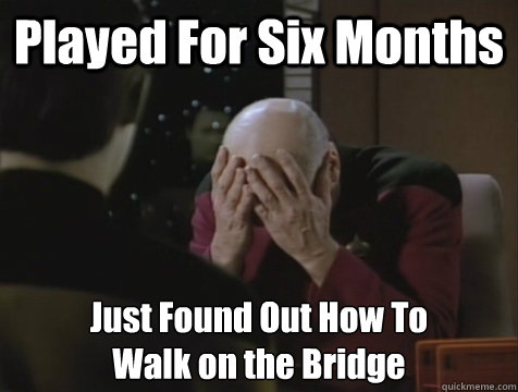 Played For Six Months Just Found Out How To Walk on the Bridge