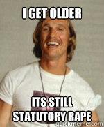 I Get older its still statutory rape