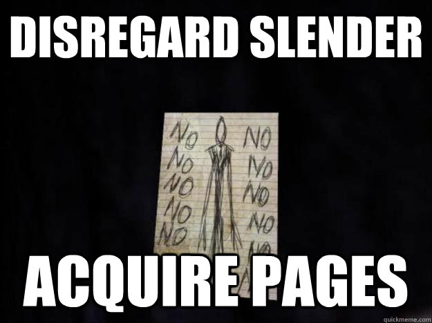 disregard slender acquire pages - disregard slender acquire pages  Misc