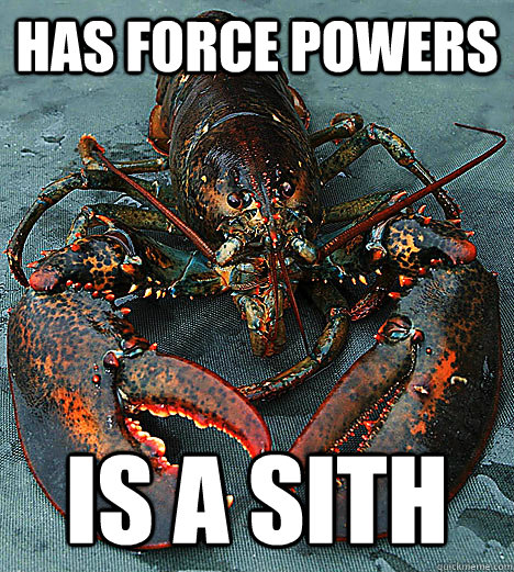 Has Force Powers Is a Sith