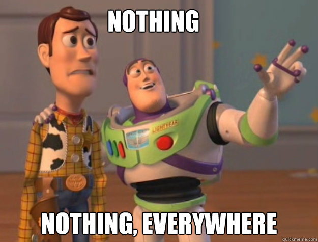 Nothing  Nothing, Everywhere - Nothing  Nothing, Everywhere  Buzz Lightyear