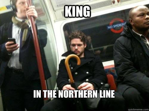 KING IN THE NORTHERN LINE  King in the north