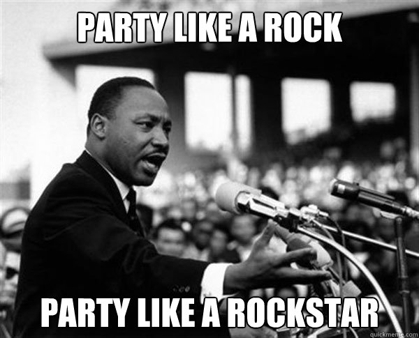 pARTY LIKE A ROCK PARTY LIKE A ROCKSTAR