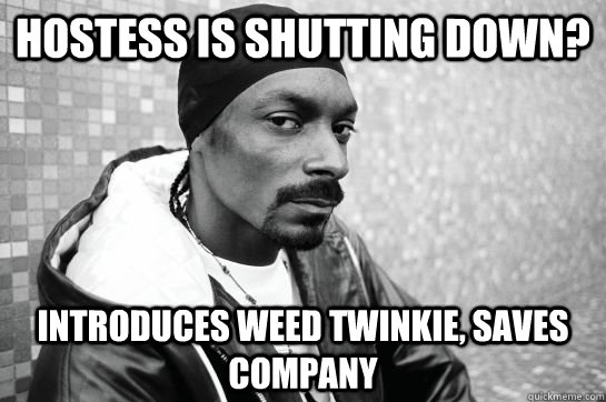 Hostess is shutting down? introduces weed twinkie, saves company