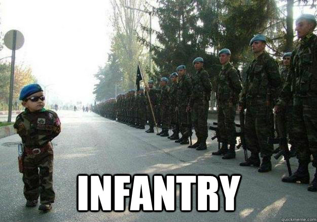 Infantry -  Infantry  Army child