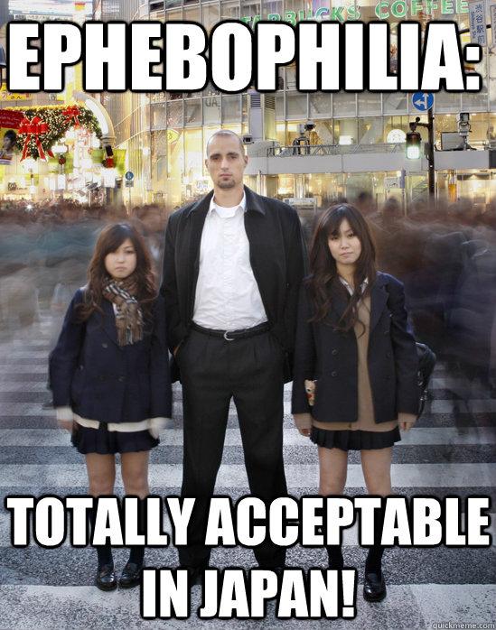 ephebophilia totally acceptable in japan   gaijin
