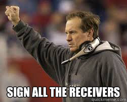 Sign ALL the receivers -  Sign ALL the receivers  Misc