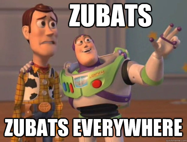 ZUBATS ZUBATS EVERYWHERE - ZUBATS ZUBATS EVERYWHERE  Pinks everywhere
