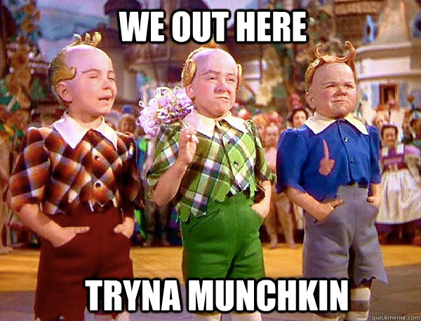 We out here tryna munchkin - We out here tryna munchkin  we out here tryna munchkin