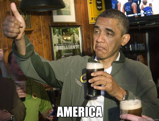 America -  America  Upvoting Obama