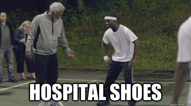 Hospital Shoes -  Hospital Shoes  Uncle Drew