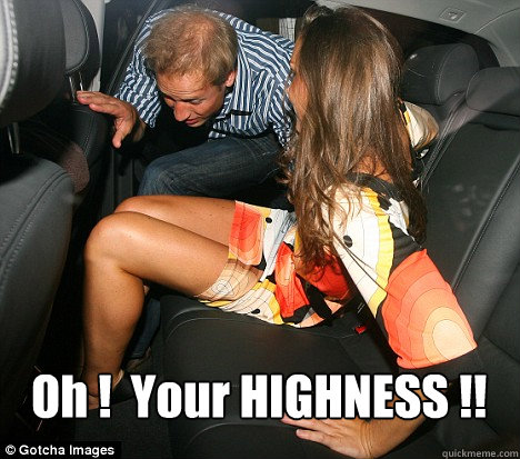 Oh !  Your HIGHNESS !!  Kate Middleton