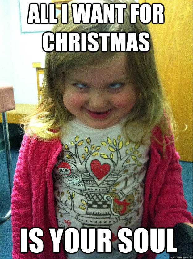 All I want for Christmas Is your soul - pedofear - quickmeme