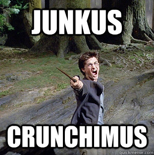 Junkus Crunchimus - Junkus Crunchimus  Pissed off Harry