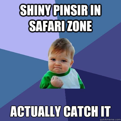 Shiny Pinsir in safari zone actually catch it - Shiny Pinsir in safari zone actually catch it  Misc