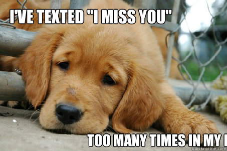 I've texted