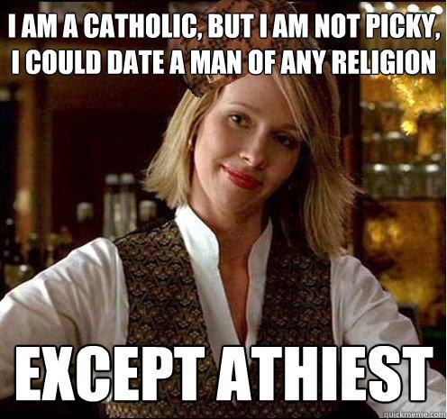 Dating a religious catholic girl