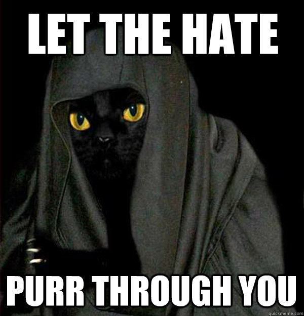 Let the Hate Purr through you