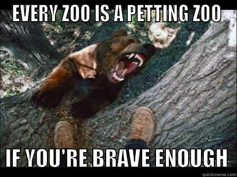 Funny Zoo Memes : Hey bubba. hold my peanuts. quickmeme