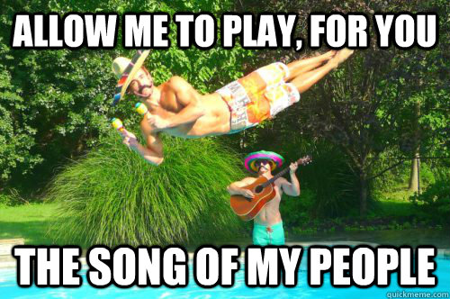 Allow me to play, for you the song of my people - Allow me to play, for you the song of my people  Le Dive