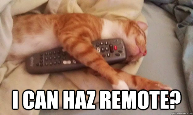 I can haz remote? -  I can haz remote?  Misc