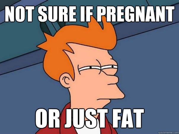 Not sure if Pregnant Or just fat - Not sure if Pregnant Or just fat  Futurama Fry